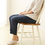座る動作で脚に影響(下半身)